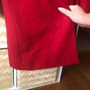 Nine West Jackets & Coats - Elegant Red Wool Coat